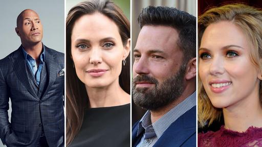 Quais são os atores e atrizes mais bem pagos de Hollywood?