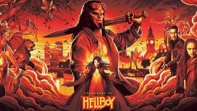Violento e sangrento: eis o novo trailer do reboot de Hellboy