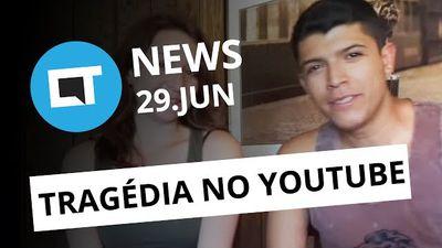 Tragédia no YouTube; Vírus Petya é pior do que parece; novidades no WhatsApp [CT