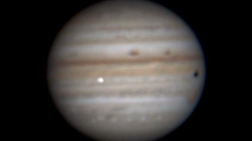 Brasileiro registra possível impacto na região equatorial de Júpiter; confira!