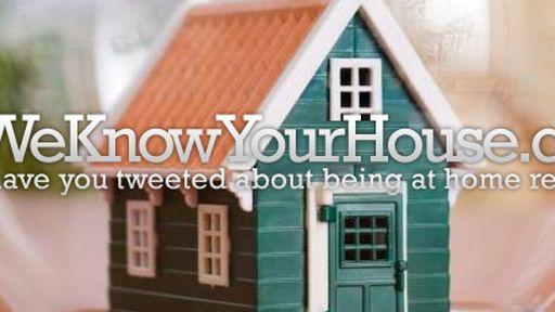 Site aproveita geolocalização do Twitter e mostra onde ficam casas de usuários