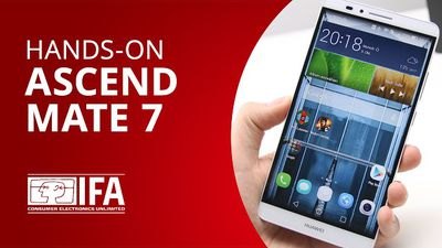 Ascend Mate 7: o top de linha gigante da Huawei [Hands-on | IFA 2014]