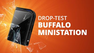 HDs Buffalo MiniStation Plus e Extreme [Drop Test]