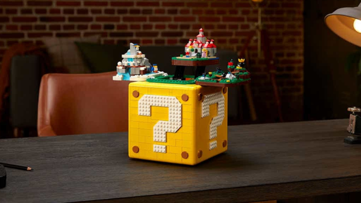 Super Mario 64 ganha conjunto incrível de LEGO