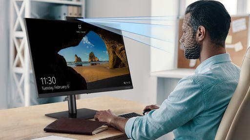 Samsung apresenta novo monitor focado em produtividade com webcam retrátil