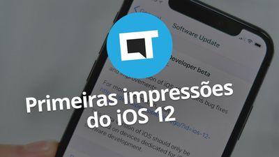 iOS 12: Primeiras impressões [Beta 1]