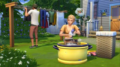 """The Sims 4 recebe nova coleção de objetos """"Dia de Lavar as Roupas"""""""