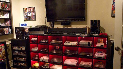 O quarto dos sonhos de todos os gamers