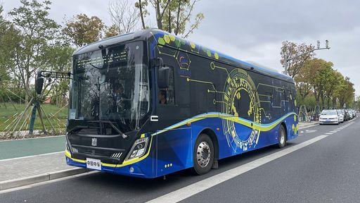 Já é possível andar de ônibus autônomo em Xangai; veja como