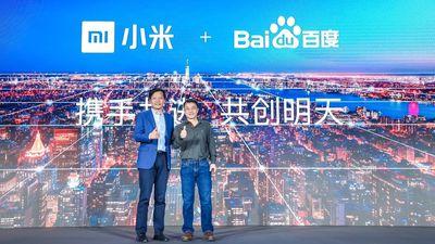 Baidu e Xiaomi anunciam parceria em projetos de IA e IoT