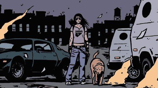 """Vazamentos """"confirmam"""" Hailee Steinfeld e Pizza Dog na série do Gavião Arqueiro"""