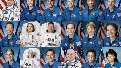 Esses 18 astronautas foram os escolhidos pela NASA para o programa lunar Artemis