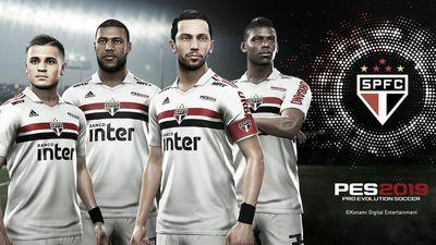 Konami se torna patrocinadora do São Paulo e clube será exclusivo do PES 2019