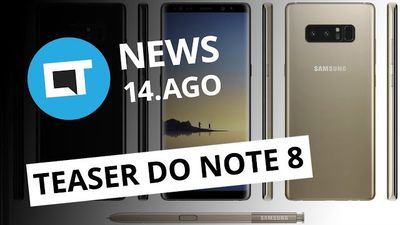 Samsung lança teaser do Galaxy Note 8; Impostos sobre software sobem e+[CT News]