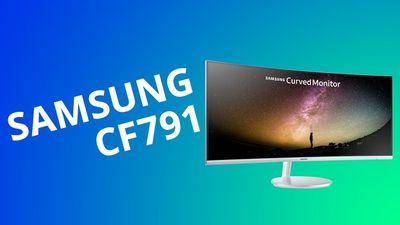 Monitor curvo Samsung CF791[Análise / Review]