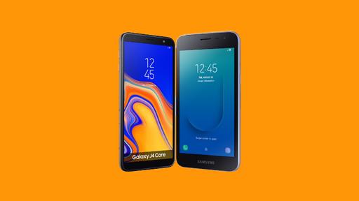 Com Android Go, Galaxy J2 Core e J4 Core desembarcam no Brasil