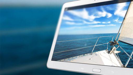 Novas imagens do Galaxy Tab S 10.5 mostram o quão fino é o novo tablet