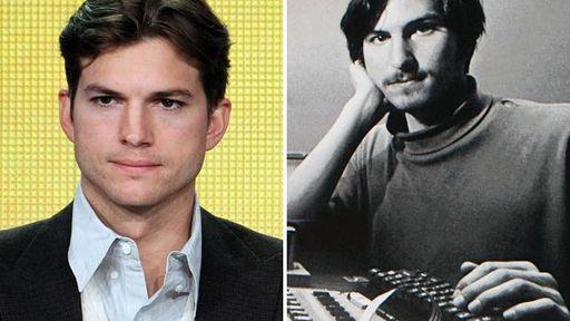 Ashton Kutcher pode viver Steve Jobs no cinema