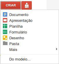 Tipos de documentos Google Docs