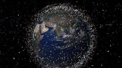 China quer usar lasers gigantes para eliminar lixo espacial ao redor da Terra