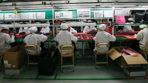 Funcionários de empresa que fabrica o iPhone 7 estão trabalhando excessivamente