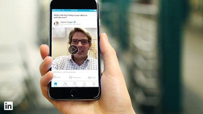 LinkedIn agora permite que todos usuários façam upload de vídeos