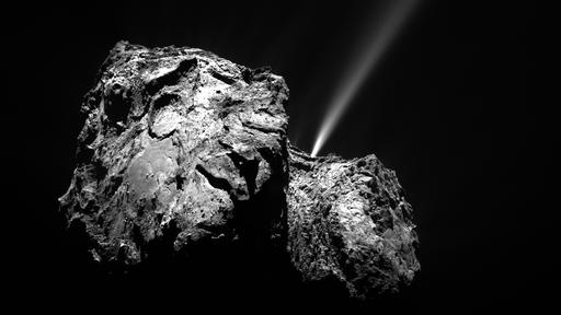 Churymoon   Fotografada pequena lua ao redor do cometa 67P
