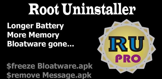 Root Uninstaller - Funciona somente em aparelhos c