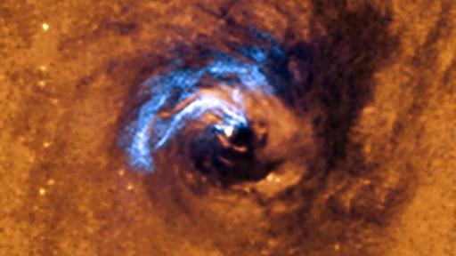 """Imagem incrível mostra que buracos negros não têm pressa de """"se alimentar"""""""