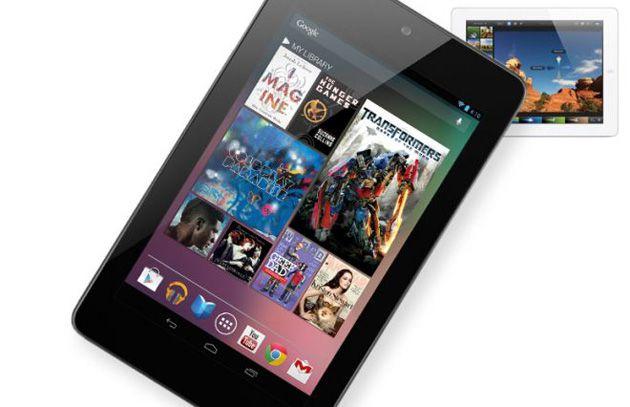 Nexus 7 versus iPad