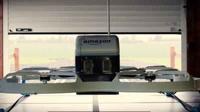 Amazon registra patente de autodestruição de drone em caso de emergência