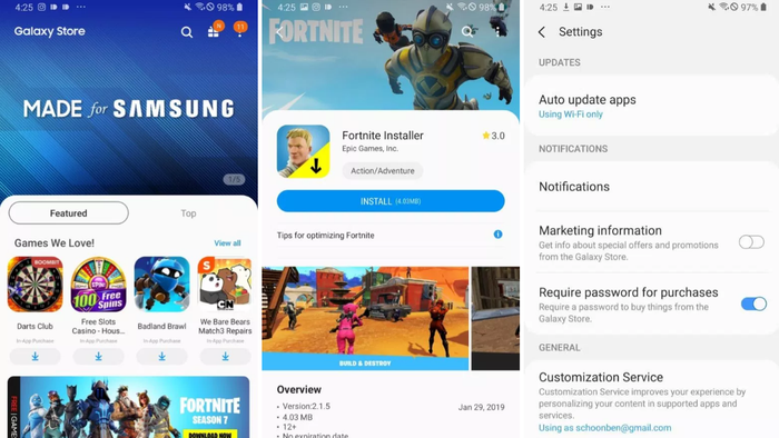 Samsung's apps store changes name and is now called Galaxy