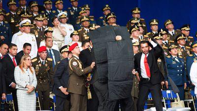 Vídeo mostra drone explodindo após ataque a presidente da Venezuela