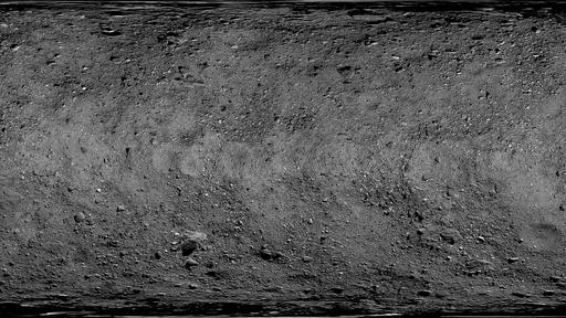 NASA divulga fotografia do asteroide Bennu em detalhes sem precedentes