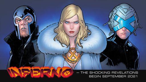 Inferno será a última saga dos X-Men da atual fase de Jonathan Hickman nas HQs