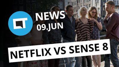 Netflix vs Sense8; Intel ameaça Qualcomm e Microsoft; novo monitor Samsung [CT N