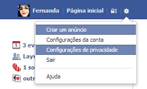 Remoção aplicativos maliciosos Facebook