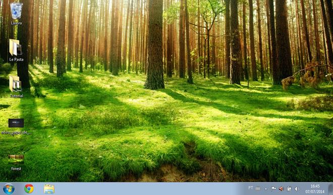Desktop Windows 7 Starter