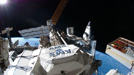 Instrumento que estuda matéria escura na ISS será reparado para durar ainda mais