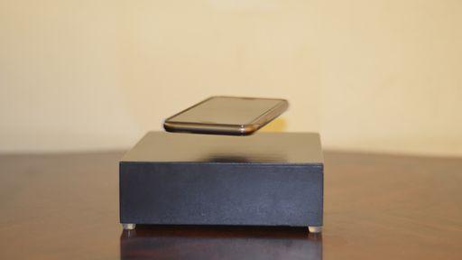 Sem fio de verdade: OvRcharger faz seu celular flutuar para carregar a bateria