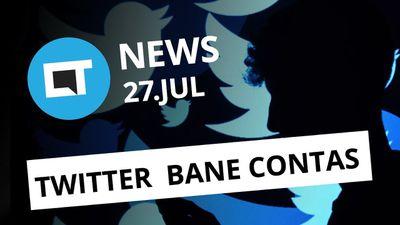 Twitter apaga milhões de perfis falsos; Smartphone dobrável da Huawei [CT News]