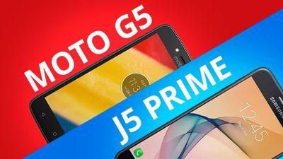Moto G5 vs Galaxy J5 Prime: quem leva a melhor? [Comparativo]