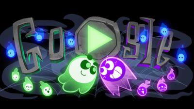 Google lança seu primeiro Doodle multiplayer, temático de Halloween