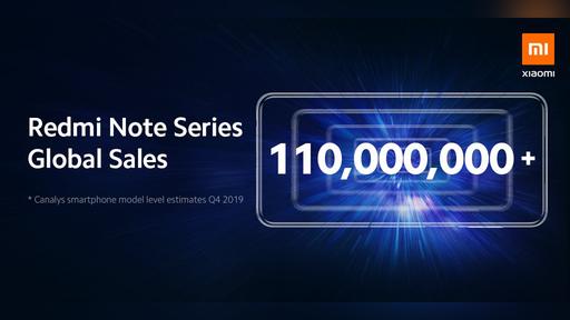 Xiaomi comemora a venda de 110 milhões de Redmi Notes