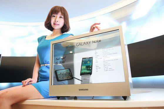 Display transparente Samsung