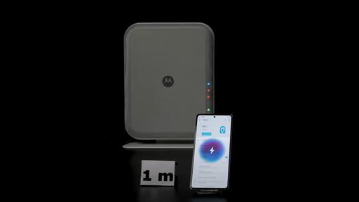 Motorola apresenta acessório que carrega baterias a até três metros de distância