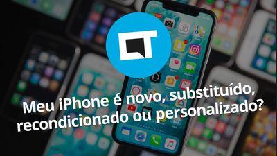 Como descobrir se um iPhone é novo ou recondicionado