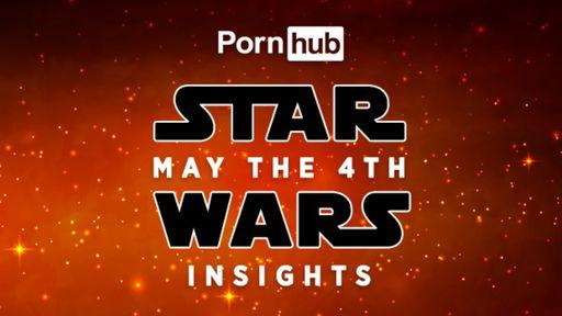 Pornhub revela estatísticas de pesquisas relacionadas a Star Wars no May the 4th
