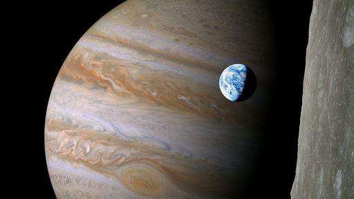 Confira a primeira imagem dos anéis de Júpiter capturadas pela sonda Juno