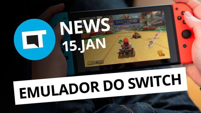 e102d259e5113 Golpe na loja do OnePlus  Emulador de Nintendo Switch para PCs e+  CT News   - Vídeos - Canaltech